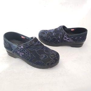 Sanitas Danish VEGAN Fabric Clogs Size 38